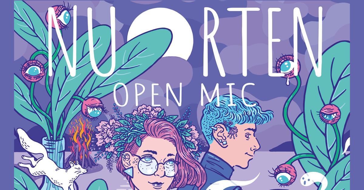 Nuorten Open Mic -banneri